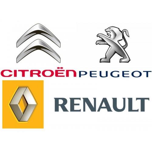 Citroen, Peugeot, Renault с ЭБУ EDC15, EDC16 от АДАКТ ©ADACT