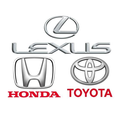 Комплект из 2 пакетов прошивок - Toyota, Lexsus 2017 + Honda 2017 от команды Autoteams