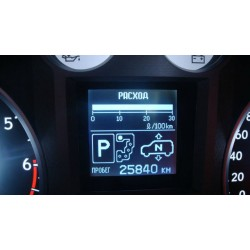 Русификация панели приборов Toyota Land Cruiser 200, Lexus LX570