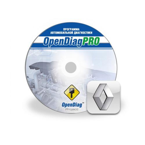 Модуль Renault для программыOpenDiagPro